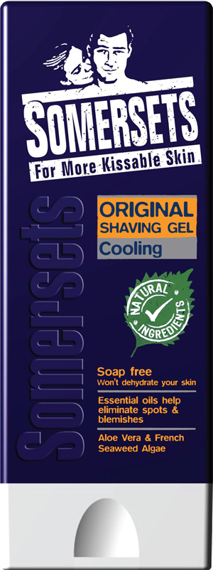 Somersets Cooling Shave Gel - 200ml